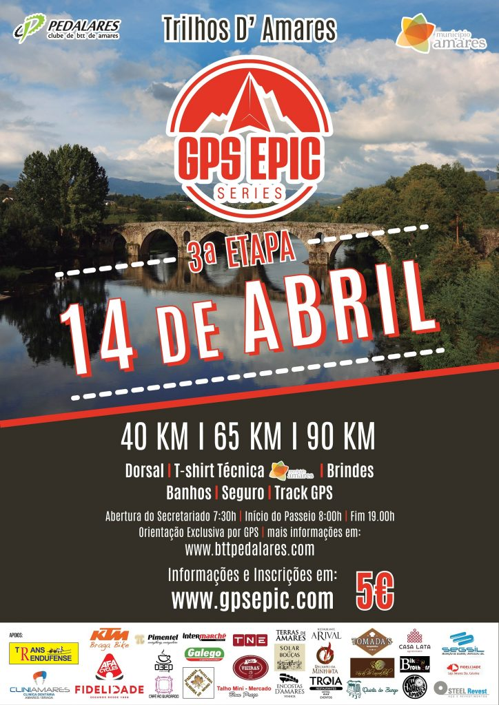BTT EM AMARES3.ª etapa do Circuito GPS Epic Series no sábado