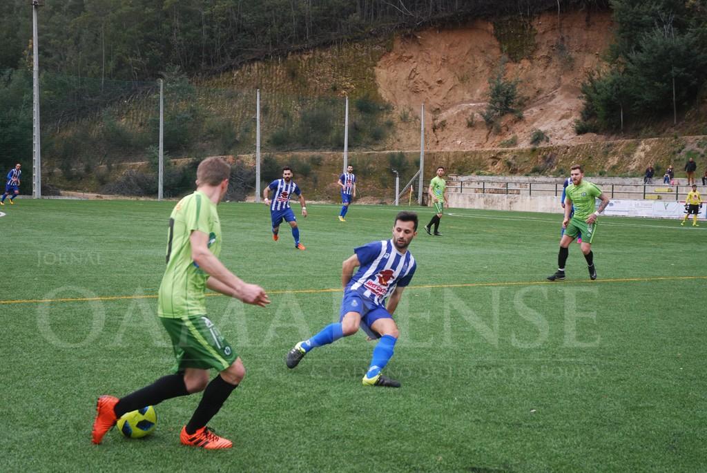 FUTEBOLGD Gerês e FC Amares dividem pontos