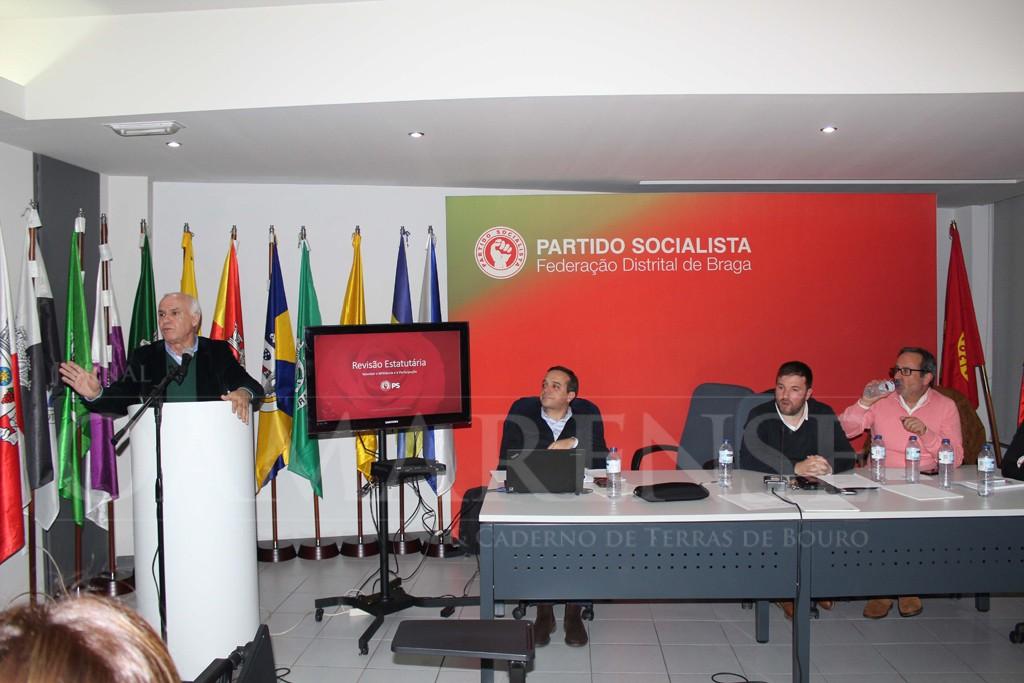 POLÍTICAPS Braga debateu alteração de Estatutos do partido