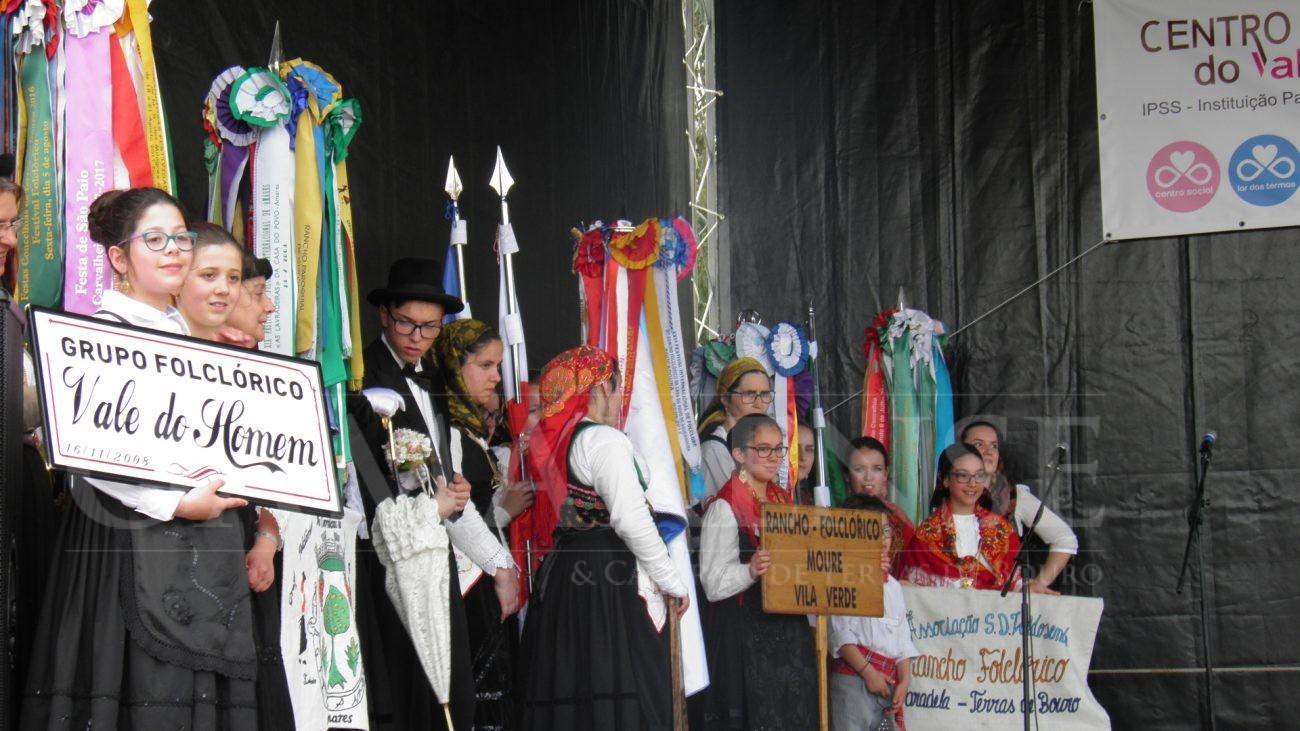 SEQUEIROS (Amares)Tradição e muita gente no VI Festival de Folclore do Vale do Homem