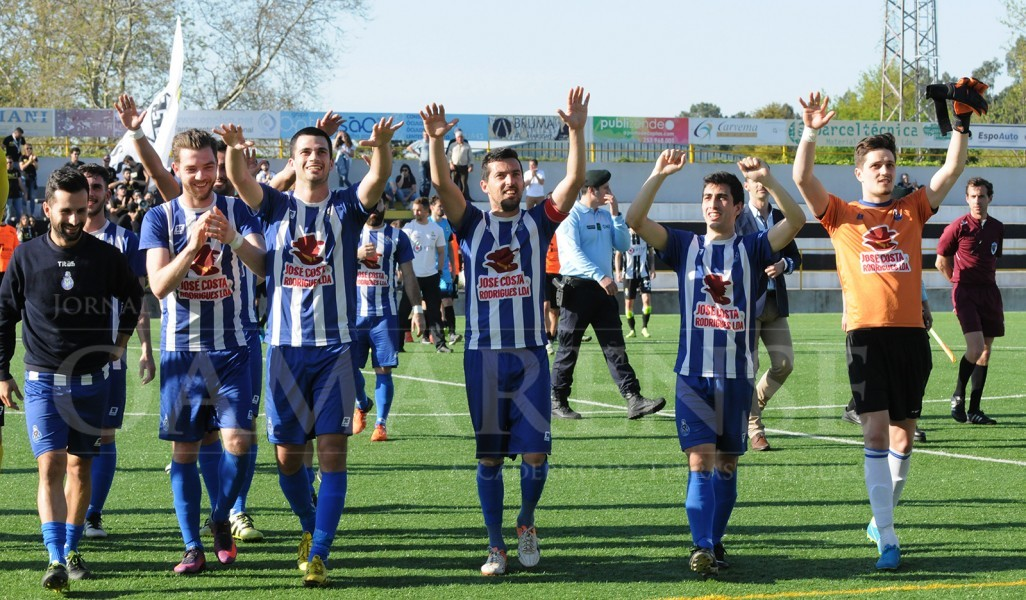 FUTEBOLHonra. FC Amares a um pequeno passo de confirmar regresso à Pró