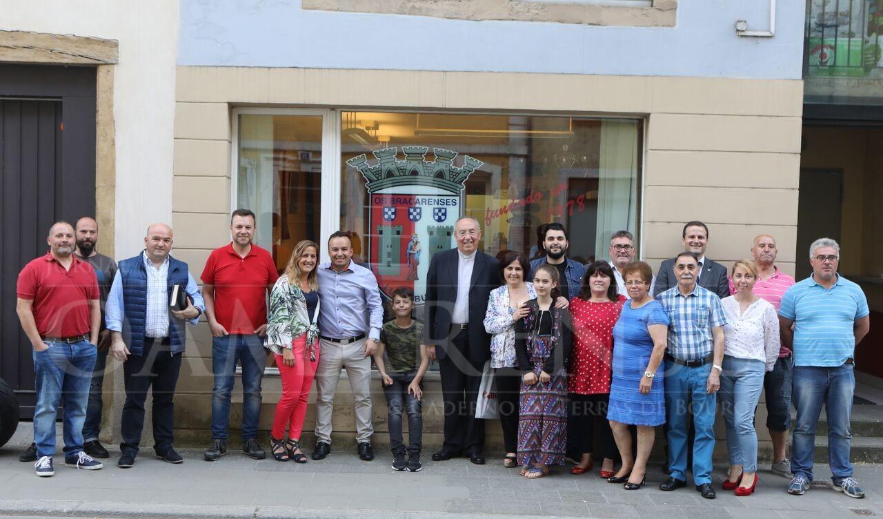ASSOCIAÇÃO CELEBRA 40º ANIVERSÁRIOArcebispo Primaz de Braga visitou sede bracarense no Luxemburgo