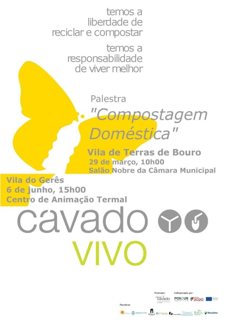 AUDITÓRIO PROF. EMÍDIO RIBEIROII Palestra sobre Compostagem Doméstica na Vila do Gerês dia 6 de Junho