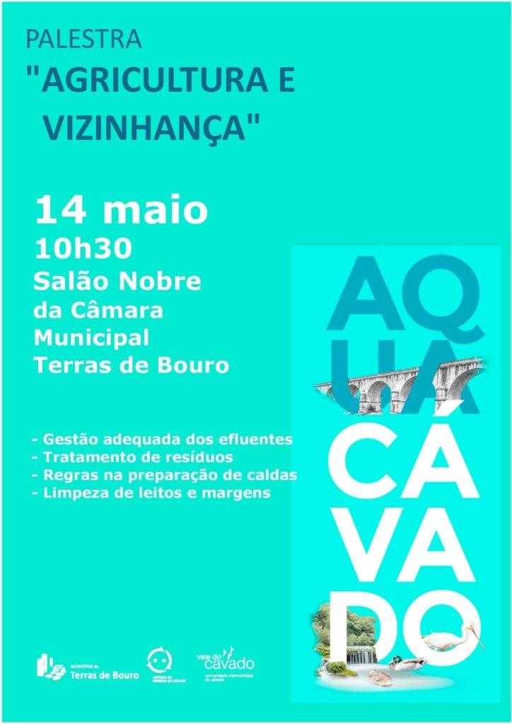 """DIA 14 DE MAIOPalestra """"Agricultura e vizinhança"""" na Câmara Municipal de Terras de Bouro"""