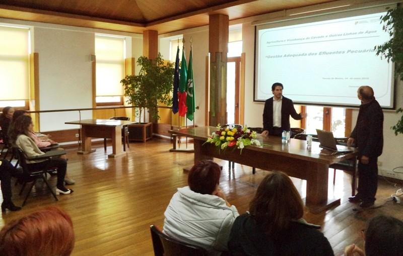 """AGRICULTURACâmara de Terras de Bouro recebeu palestra sobre """"Agricultura e vizinhança"""""""