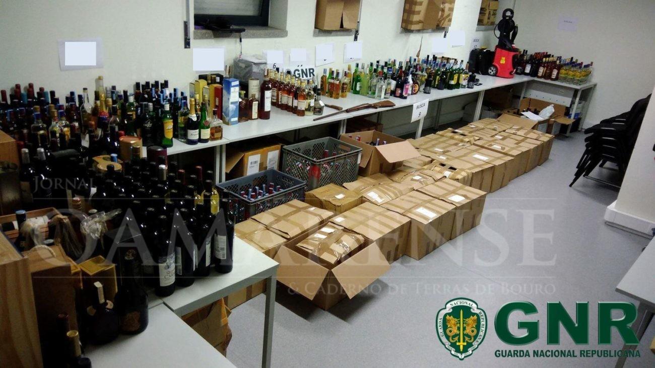 MAIS DE 1100 GARRAFAS FURTADAS EM HIPERMERCADOS NOS DISTRITOS DE BRAGA E PORTO CRIME: 27 buscas e 12 indivíduos indiciados por furtos qualificados e recetação