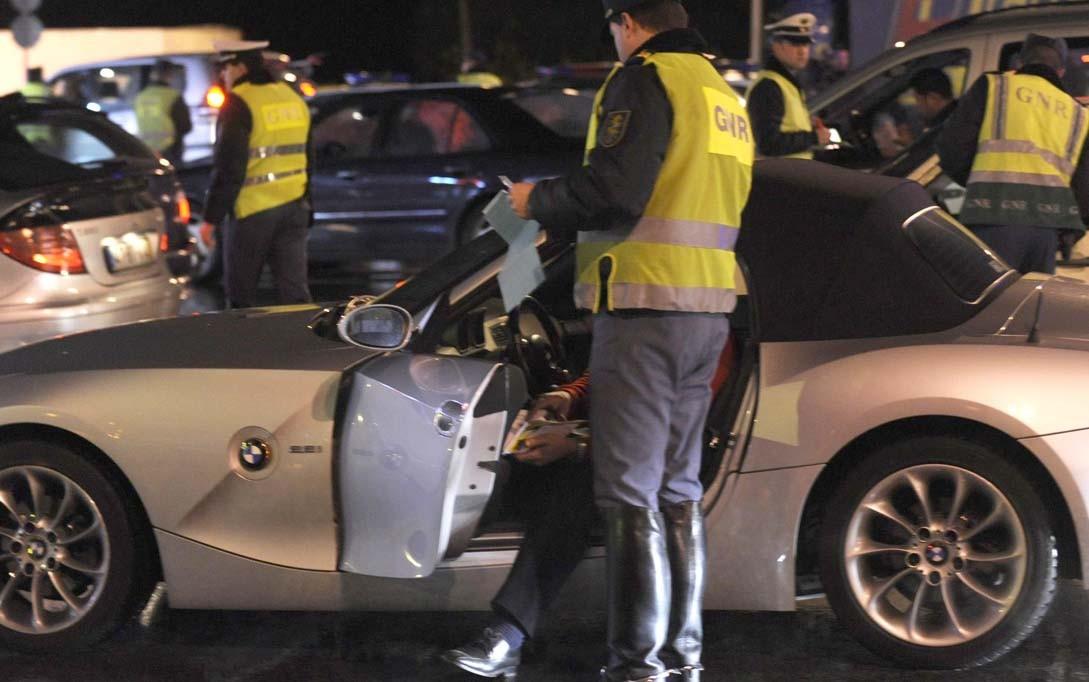 ACTIVIDADE GNR33 detidos nas últimas doze horas .. 18por condução sob o efeito do álcool