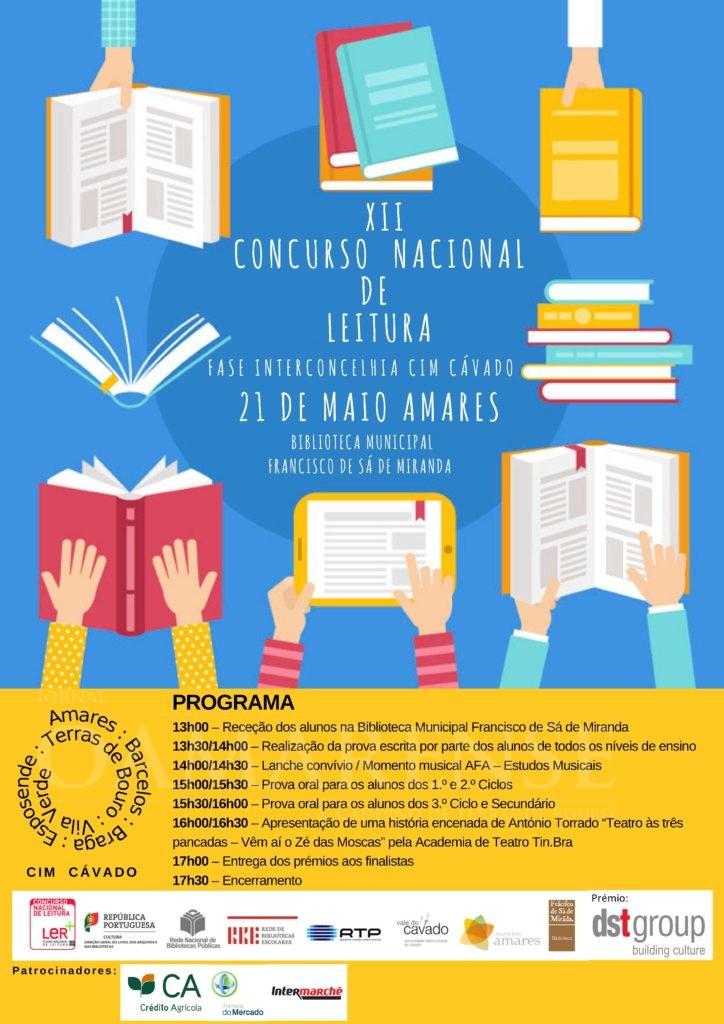NO AUDITÓRIO CONDE FERREIRAFase Interconcelhia da XII Edição do Concurso Nacional de Leitura esta segunda-feira