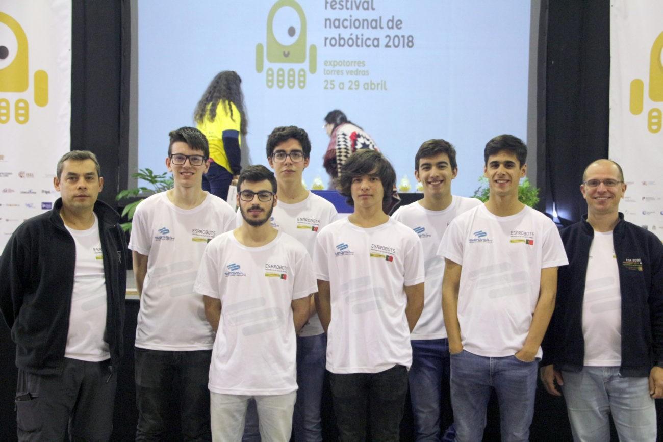 """ROBÓTICA""""ESARobots"""" do AE de Amares Campeã Nacional no Festival de Robótica 2018"""