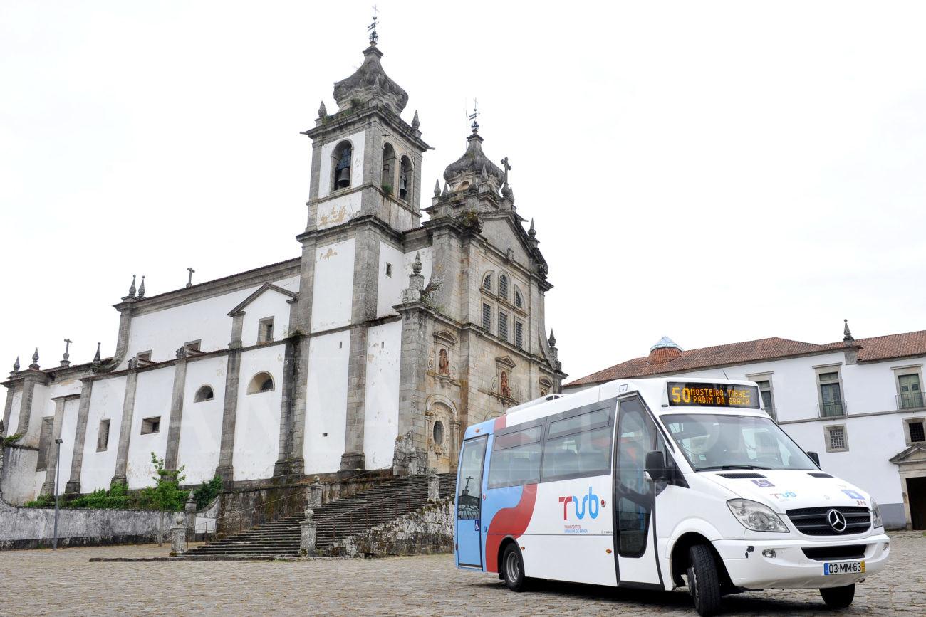 Ligação passa a funcionar aos Sábados, Domingos e FeriadosNovo serviço dos TUB para o Mosteiro de Tibães reforça aposta no Turismo Cultural