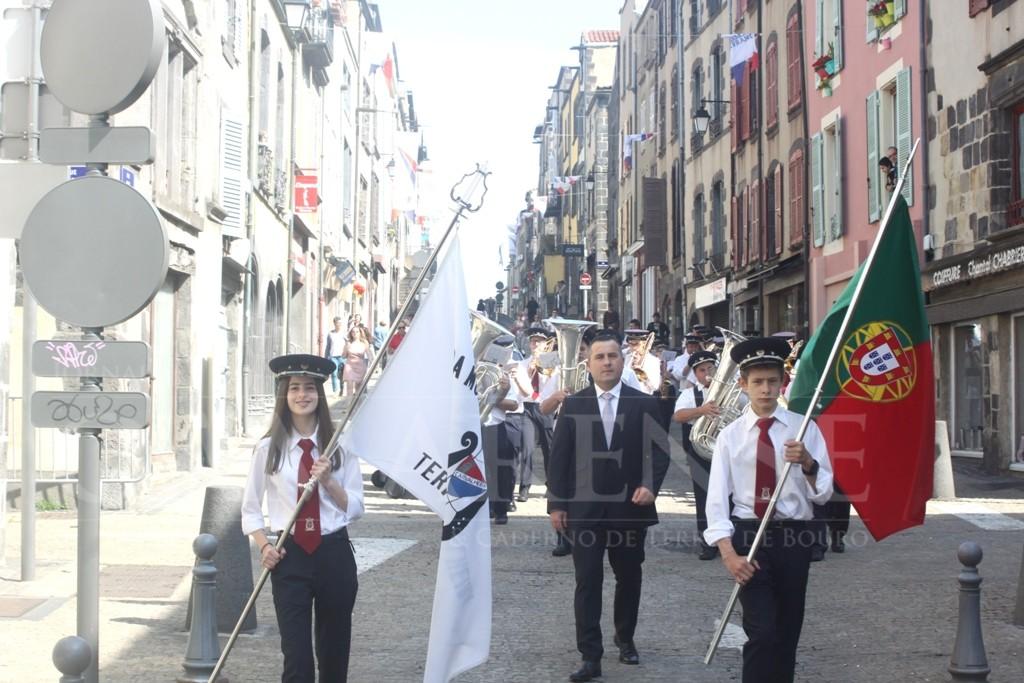 TERRAS DE BOUROBanda Musical de Carvalheira animou Festas de Montferrand 2018