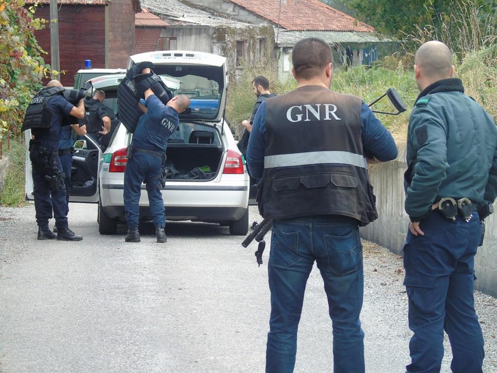 CRIME Quarteto de cadastrados detido por tentativa de furto a casa em Amares