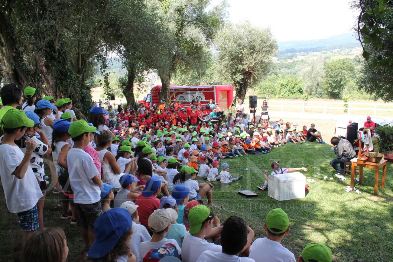 INICIATIVA PROMOVIDA PELO MUNICÍPIO - Festa de encerramento das actividades de Verão decorreu esta manhã na Quinta do Lamoso
