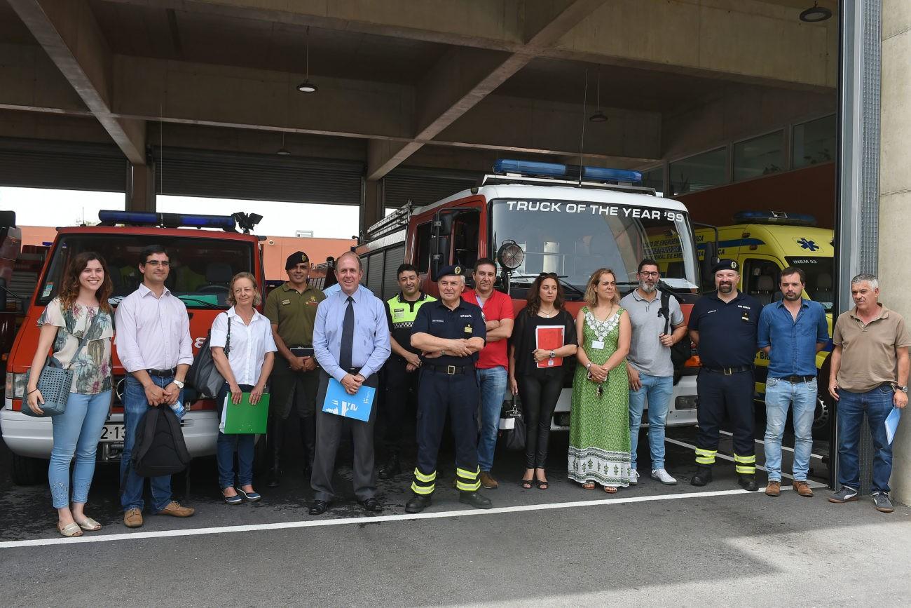 GARANTIA DADA POR FIRMINO MARQUES - Comissão Municipal de Protecção Civil pronta a actuar