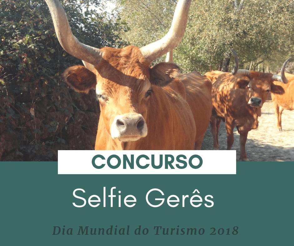 CONCURSO DECORRE DE 21 A 27 DE SETEMBRO - Gerês Viver Turismo assinala dia mundial do Turismo com concurso de selfies