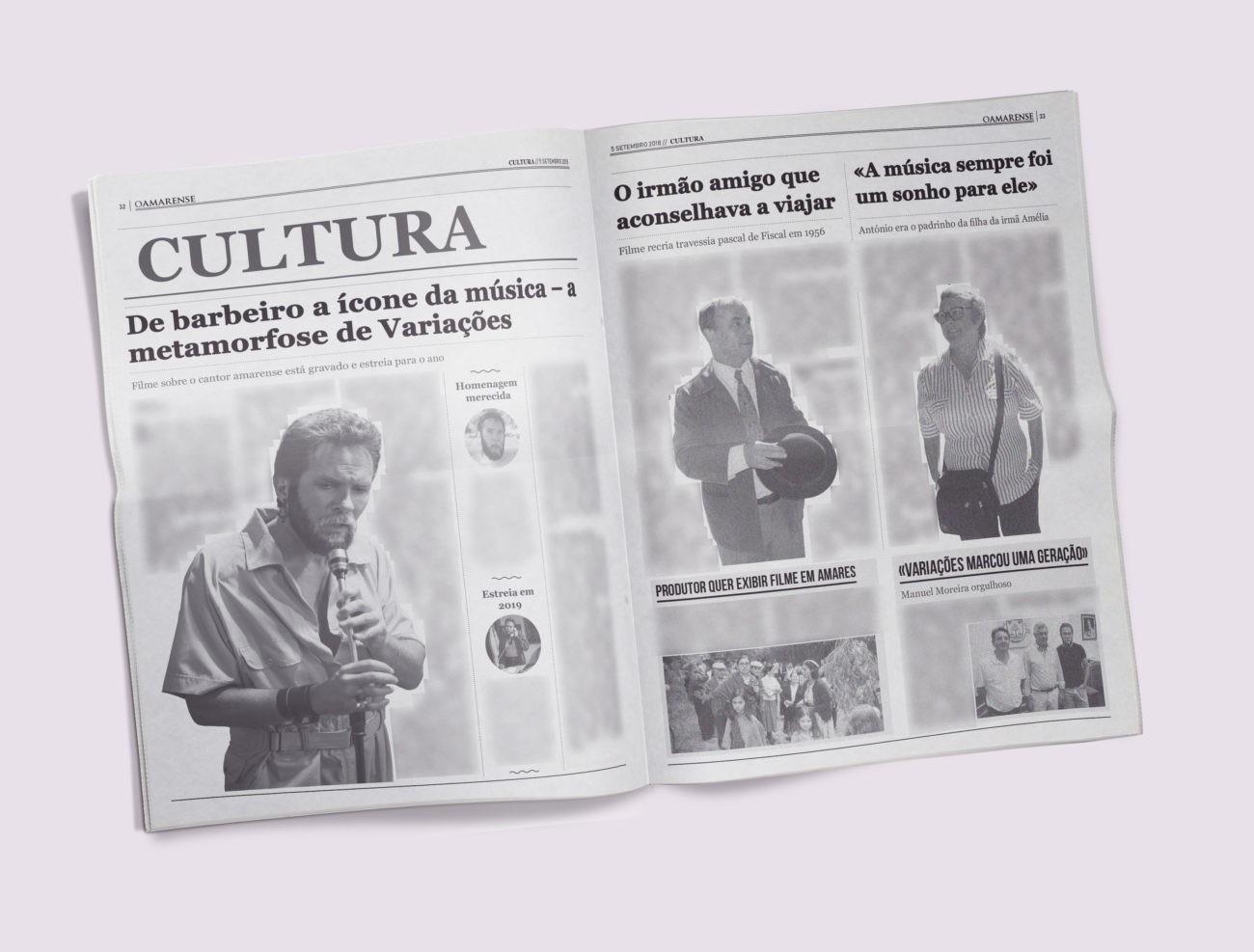 EDIÇÃO IMPRESSA - Filme sobre o cantor amarense está gravado e estreia para o ano