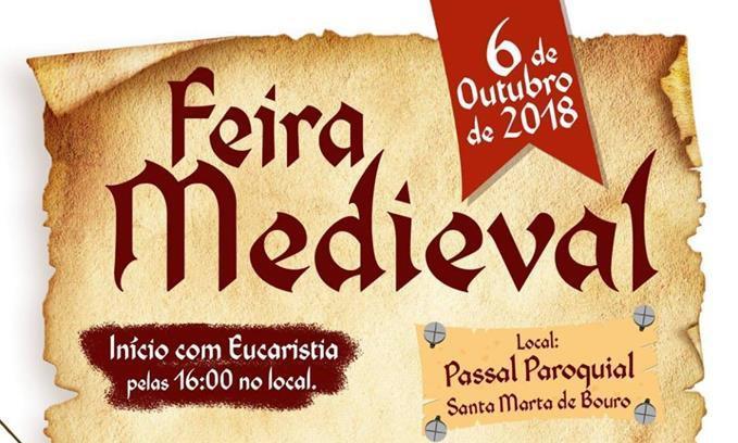 EM OUTUBRO – Bouro Santa Marta recebe Feira Medieval