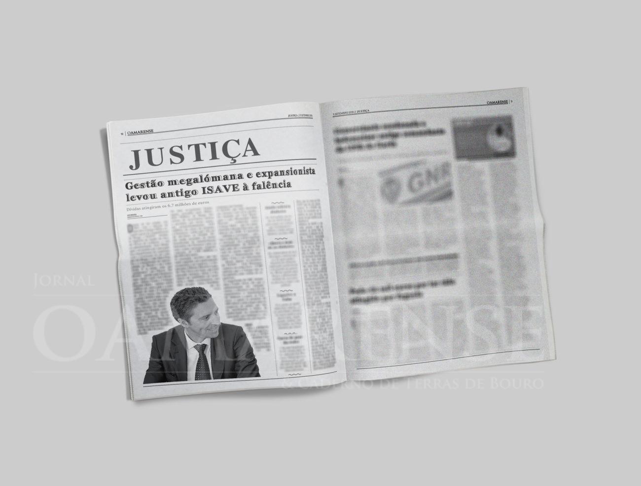 EDIÇÃO IMPRESSA - Gestão megalómana e expansionista levou antigo ISAVE à falência