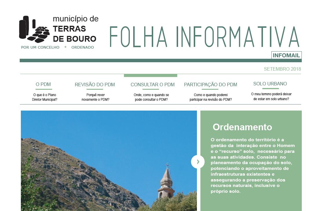 TERRAS DE BOURO - Cibões/Brufe e Gondoriz recebem sessões sobre revisão do PDM