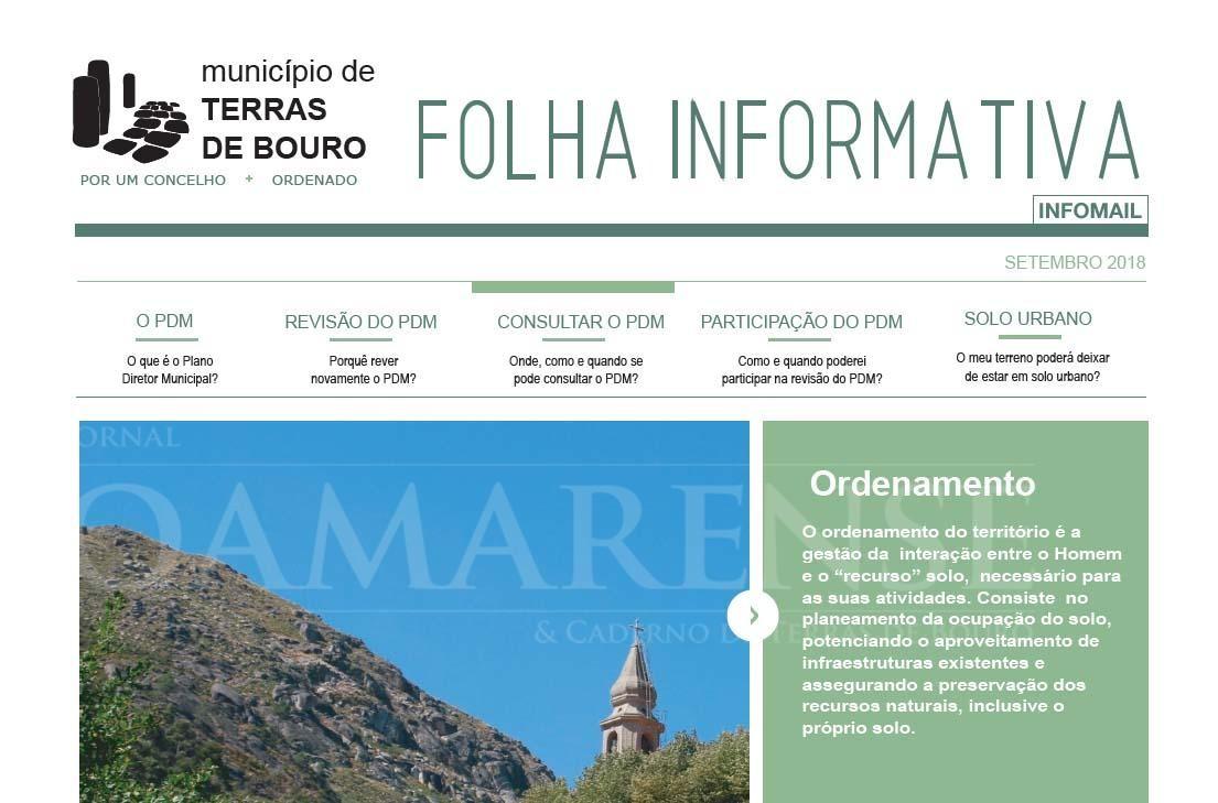 TERRAS DE BOURO - Souto, Balança e Ribeira acolhem sessões sobre Revisão do Plano Director Municipal