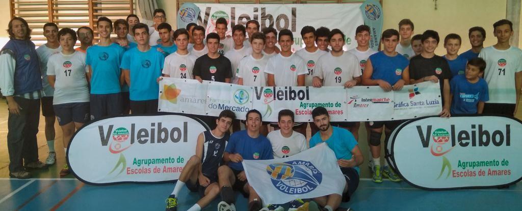 DESPORTO –  Volei Amares realizou um torneio convívio
