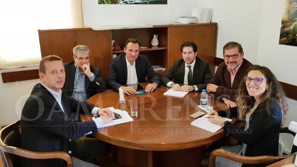Terras de Bouro - Executivo Municipal reuniu com a EDP Distribuição