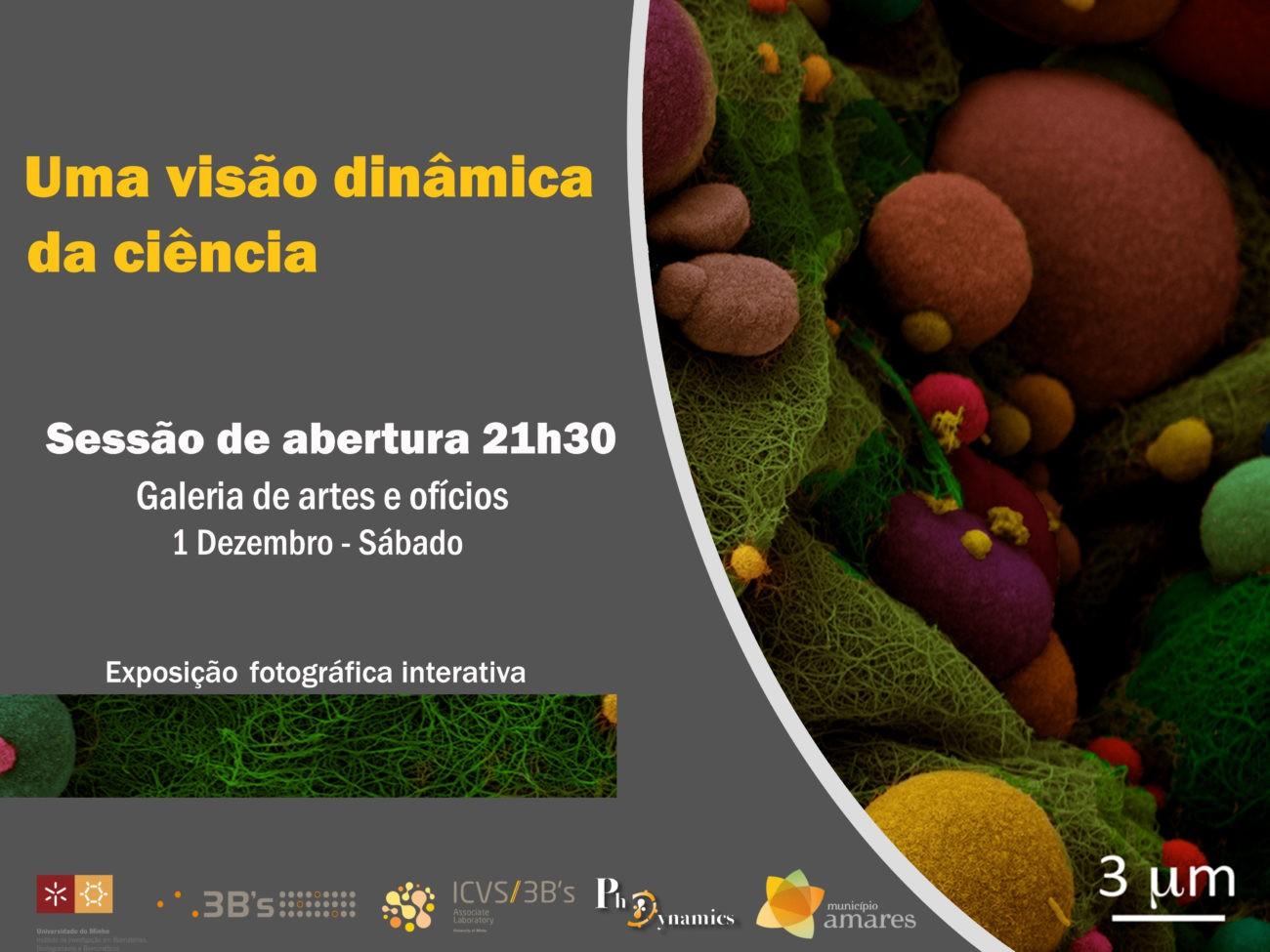 AMARES –  Câmara e Universidade do Minho inauguram a primeira exposição interactiva de fotociência