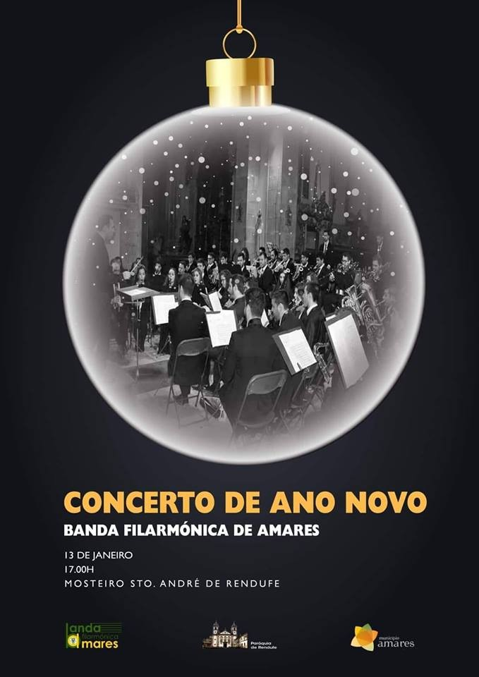 CULTURA – Mosteiro de Rendufe acolhe Concerto de Natal da Banda Filarmónica de Amares