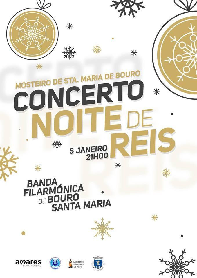 CULTURA -Concerto de Reis organizado pela Banda Filarmónica de Bouro Santa Maria no dia 5 de Janeiro