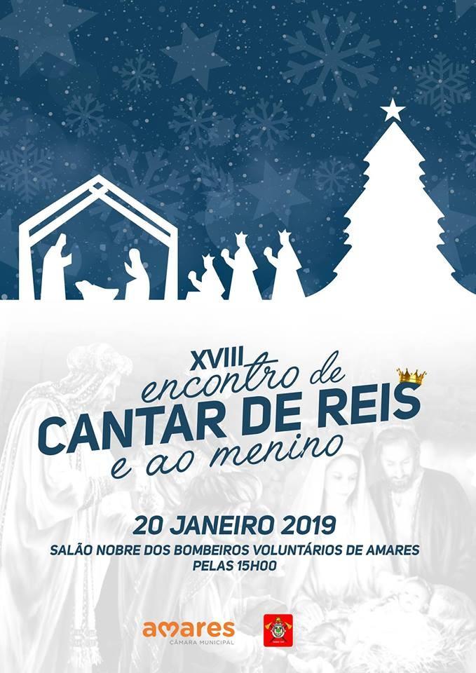 AMARES - Salão Nobre dos Bombeiros Voluntários acolhe XVIII Encontro de Cantar de Reis e ao Menino