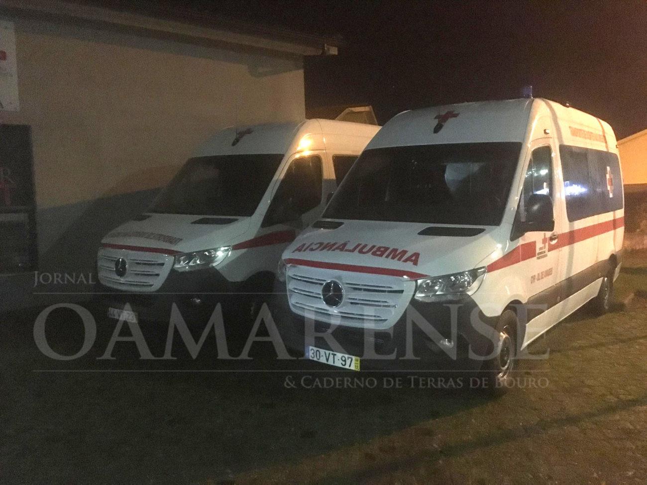 AMARES –  Cruz Vermelha assinalou aniversário com bênção de novas ambulâncias