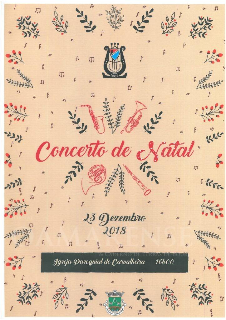 CarvalheiraConcerto de Natal, em Terras de Bouro, marcado para 23 de Dezembro