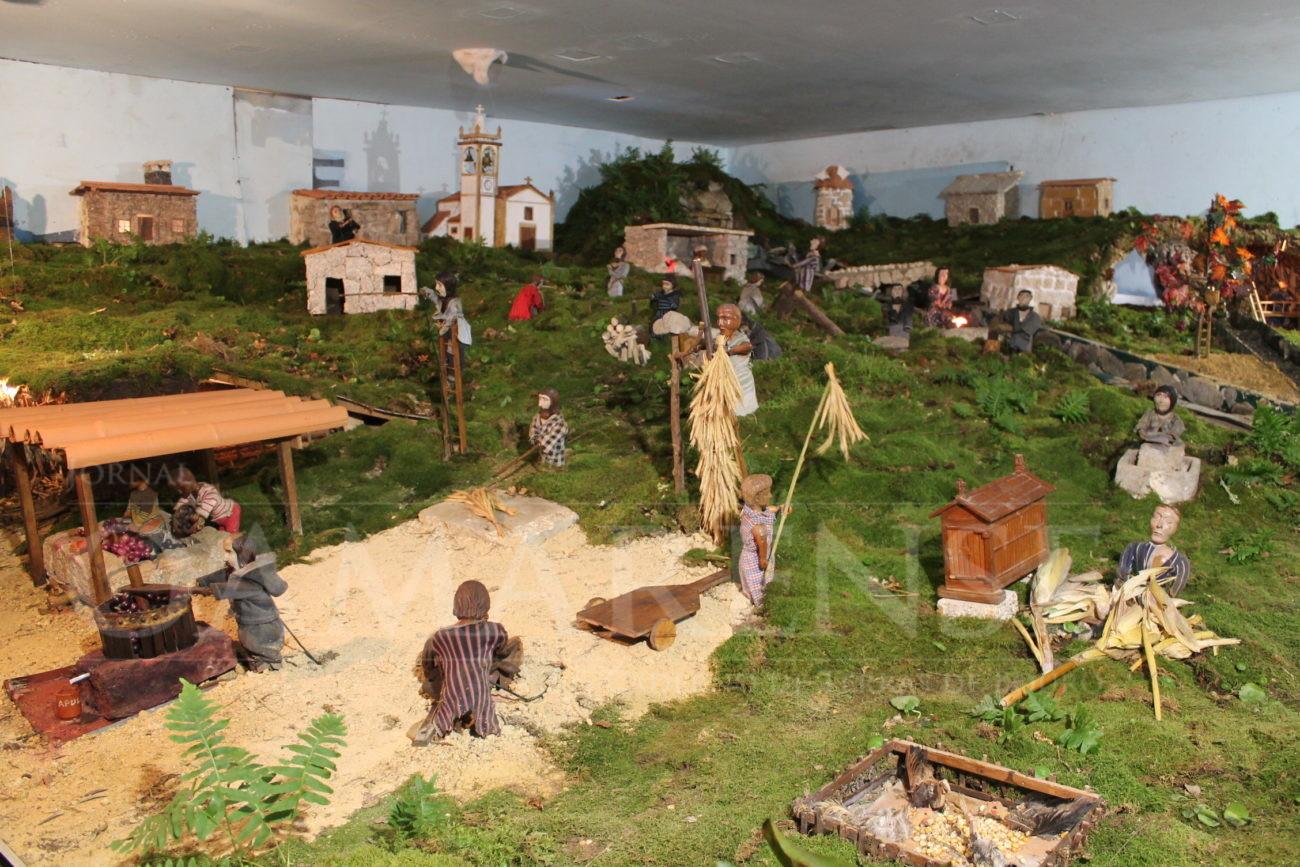 LAGO – Presépio movimentado já abriu