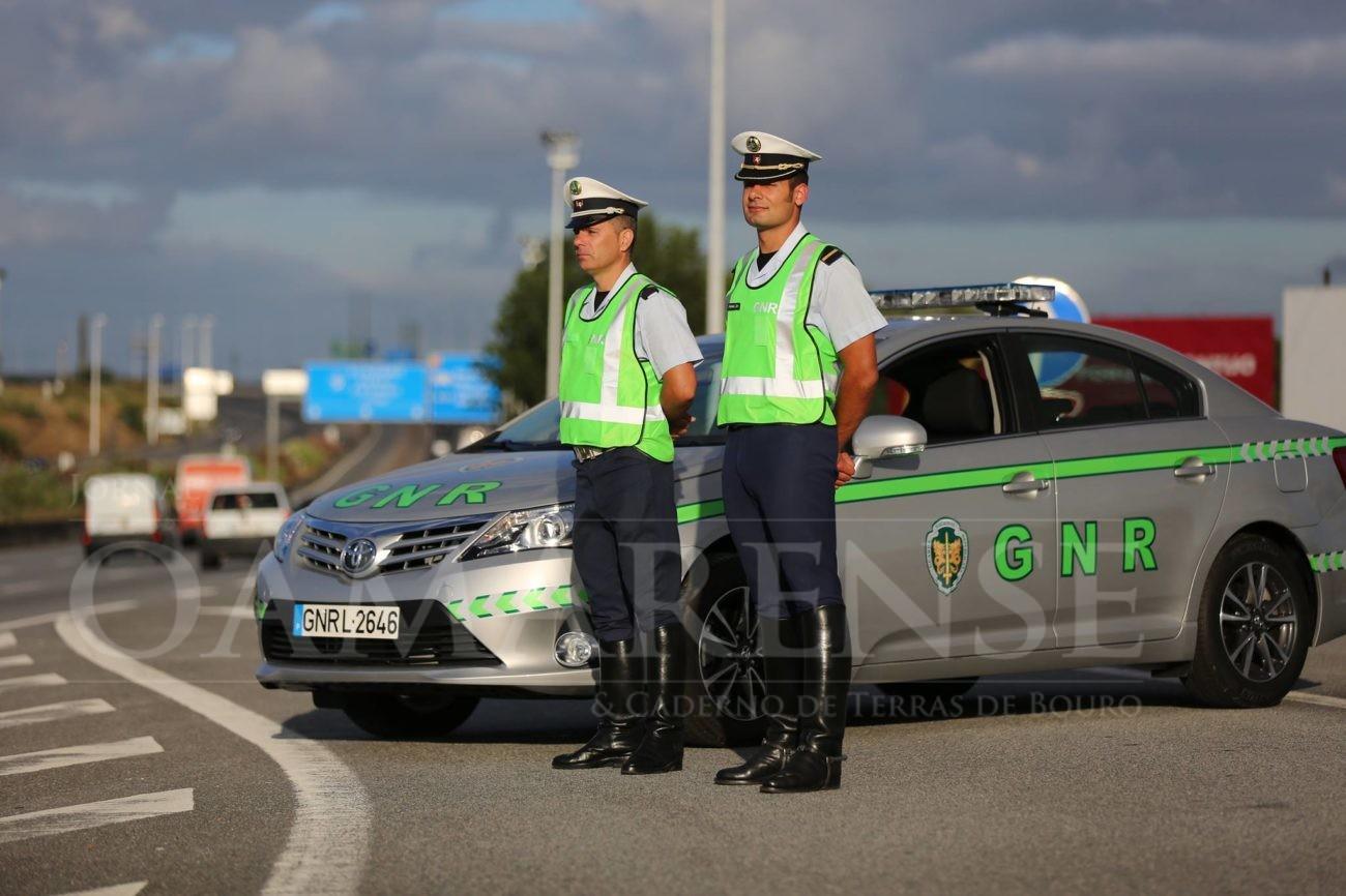ACTIVIDADE GNR: 27 detidos nas últimas doze horas … 20 por excesso de álcool