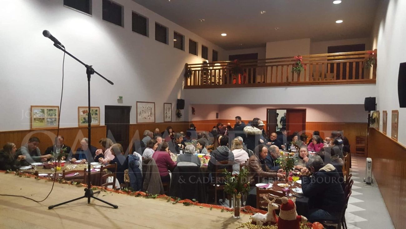 Parte das receitas reverteram para a Valoriza - Casa cheia para jantar solidário em S. Vicente do Bico