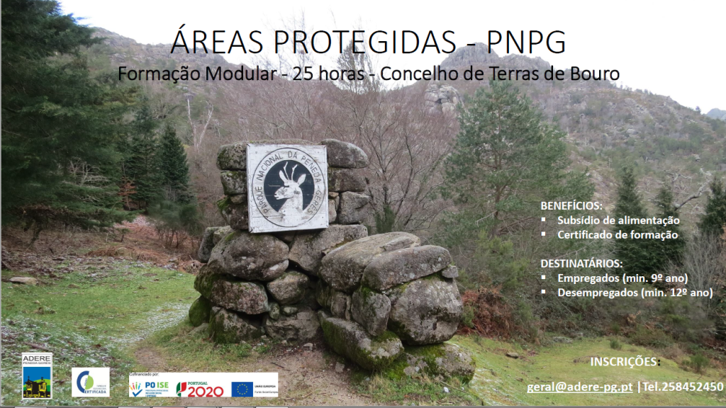 TERRAS DE BOURO - Acção de formação sobre áreas protegidas do PNPG já está disponível