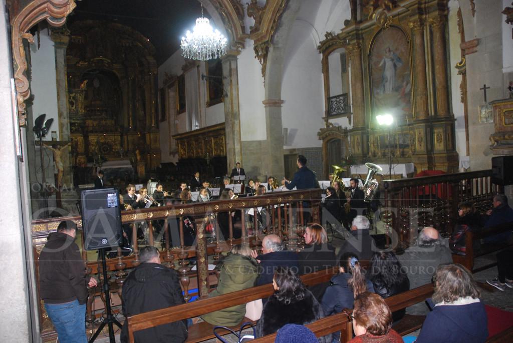 BOURO –  Banda Filarmónica deu Concerto de Reis no Mosteiro