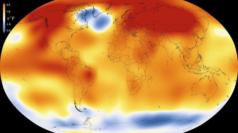 AMBIENTE – Os últimos quatro anos foram os mais quentes desde 1850