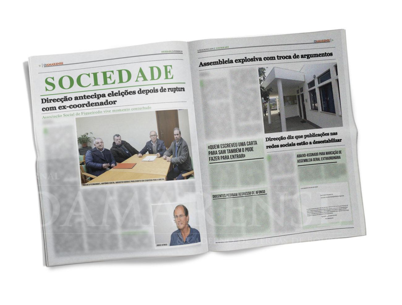 EDIÇÃO IMPRESSA – Associação Social de Figueiredo vive momento conturbado