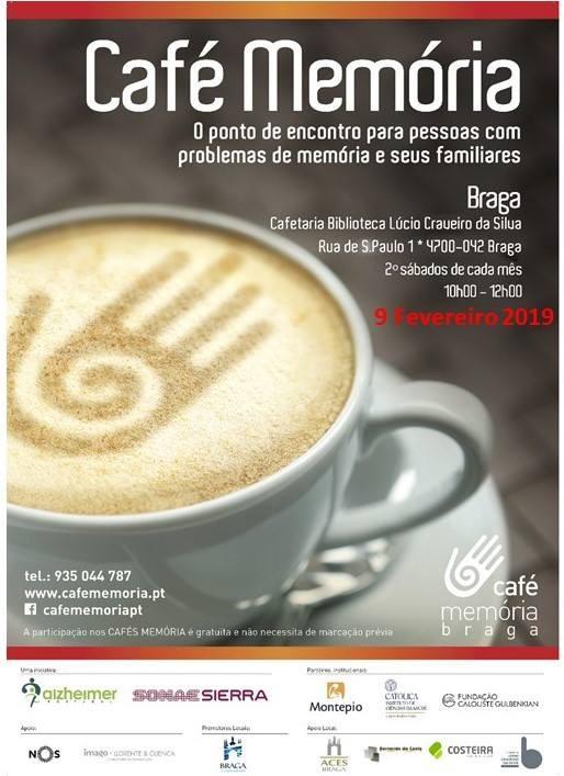 BRAGA- Café Memória regressa este sábado à Biblioteca Lúcio Craveiro da Silva