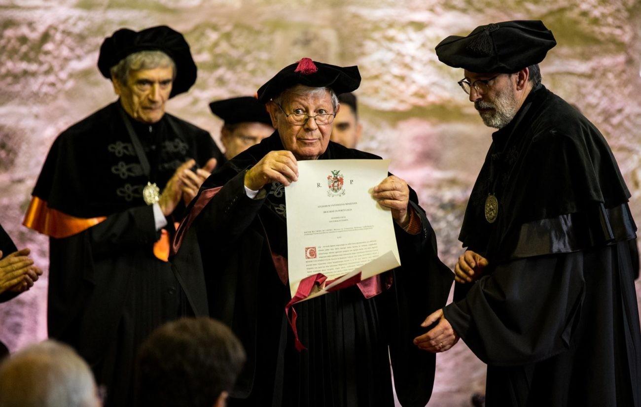 TERRAS DE BOURO –  Frei Bento Domingues distinguido com o título de Doutor Honoris Causa