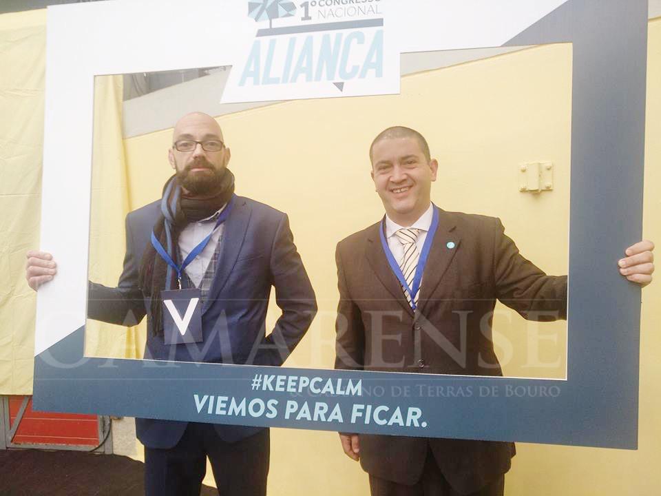 """POLÍTICA (Congresso decorreu este fim-de-semana): Marco Alves e Sérgio Rodrigues são os rostos do """"Aliança"""" em Amares e Vila Verde"""