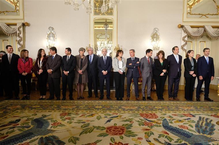 NACIONAL - Novos membros do Governo de António Costa tomaram posse esta segunda-feira