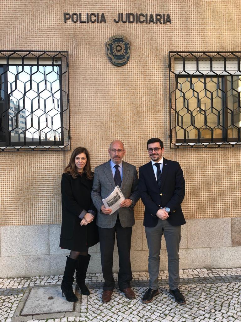BRAGA - Deputados do CDS-PP reuniram com PSP e PJ de Braga