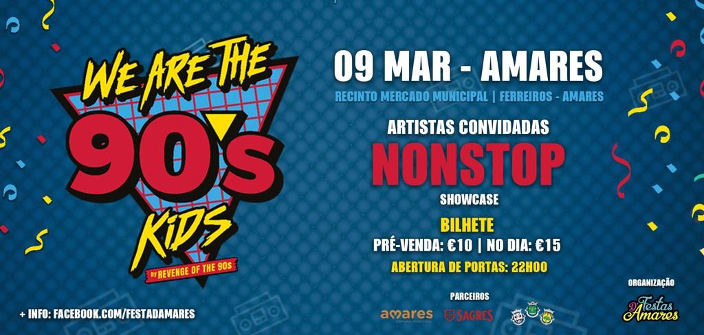 AMARES –  Associação de Festas Antoninas organiza festa de regresso aos anos 90