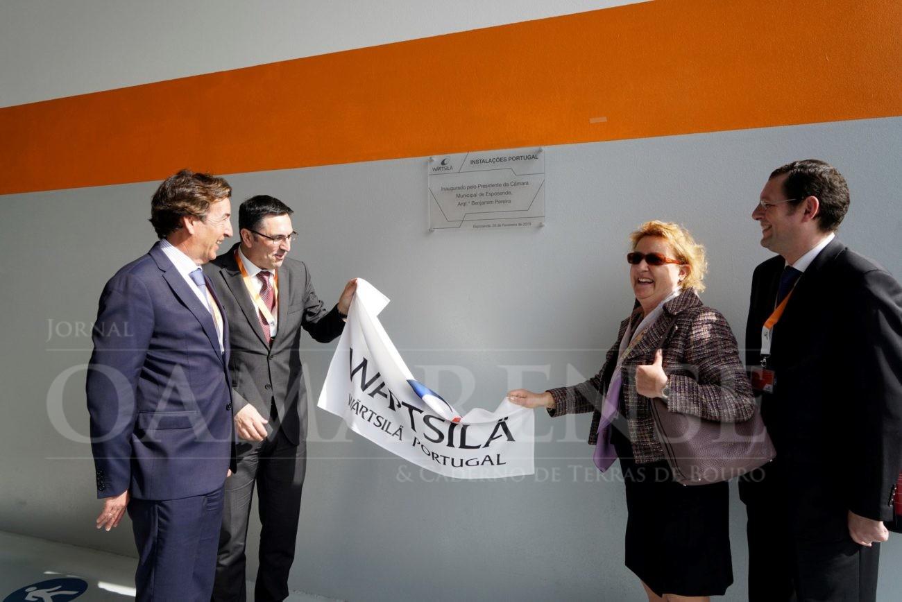 REGIÃO - Multinacional finlandesa Wärtsilä instalou unidade industrial em Esposende
