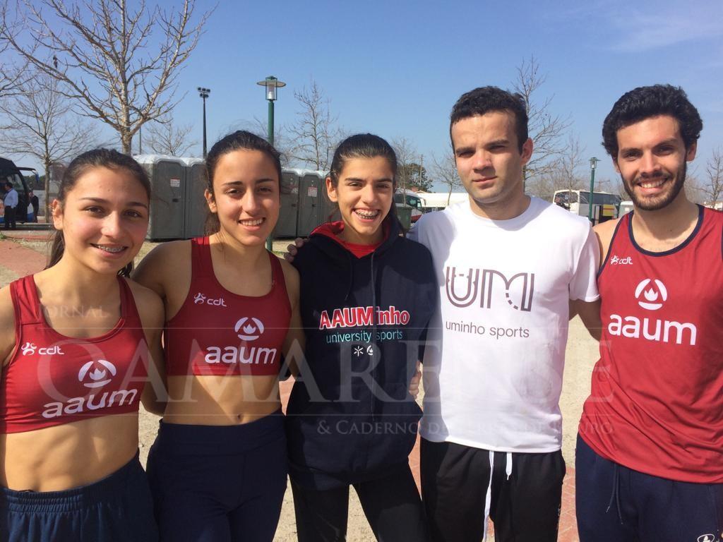 DESPORTO - AAUM venceu Campeonato Nacional Universitário de Corta-mato feminino