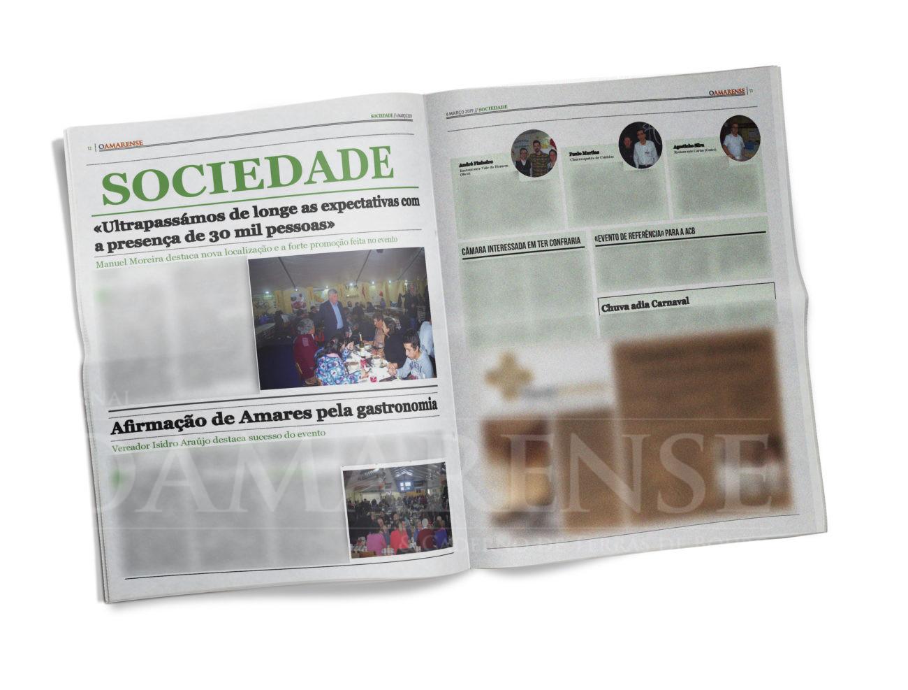 EDIÇÃO IMPRESSA – Festival das Papas de Sarrabulho. Manuel Moreira destaca nova localização e a forte promoção feita no evento