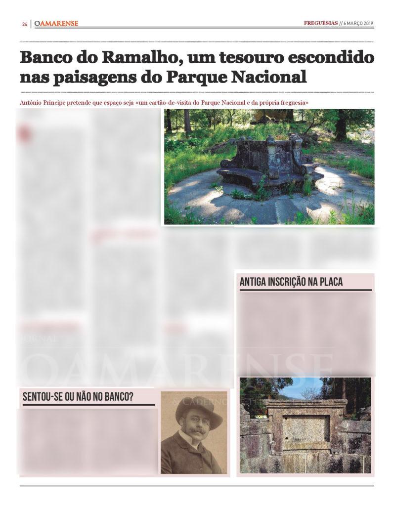 EDIÇÃO IMPRESSA – Banco do Ramalho, um tesouro escondido nas paisagens do Parque Nacional