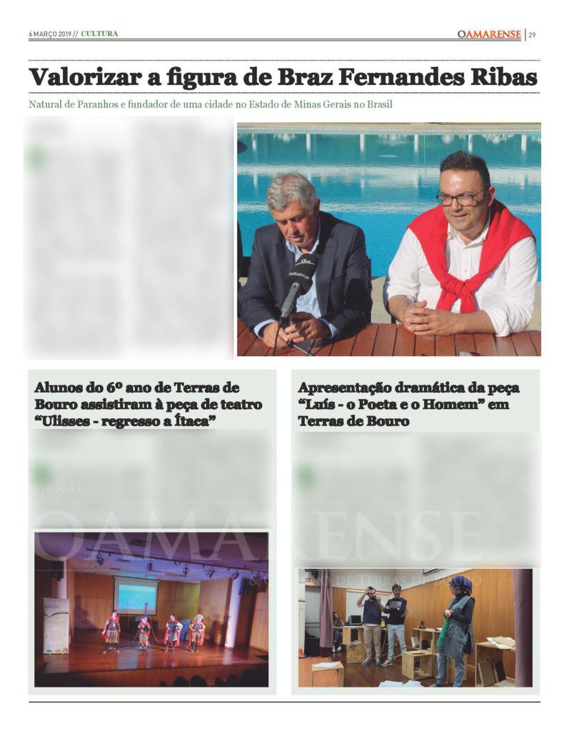 EDIÇÃO IMPRESSA – Valorizar a figura de Braz Fernandes Ribas
